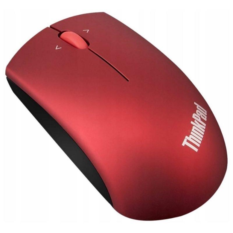 Lenovo Precision Wireless Mouse Punane